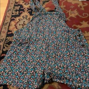 Lucca couture dressy overall shorts